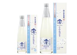 松竹梅白壁蔵「澪」<WHITE>スパークリング清酒 左から、300ml、750ml(いずれもカートン入)