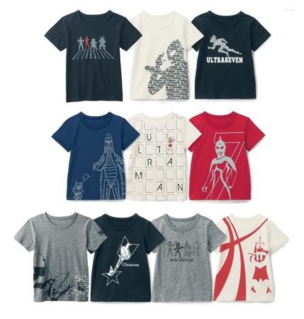 ベルメゾン ウルトラマンシリーズ×ベルメゾン 限定コラボ!新柄『親子でお揃い半袖Tシャツ』新発売