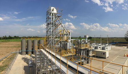 ミャンマーでの籾殻を活用したバイオマスガス化発電による分散型電源供給モデル実証事業を本格的に開始