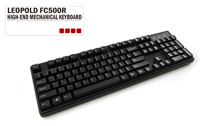 1bb5b47cebf Archiss/Leopold full-size with Cherry MX Red - deskthority