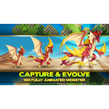 Capture, raise, and evolve over 900 Types of Monsters
