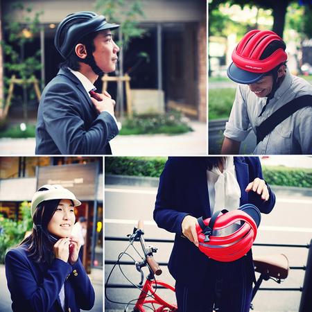 自転車通勤 自転車通勤 服装 カジュアル : ... 自転車用「ブリムカスク」発売