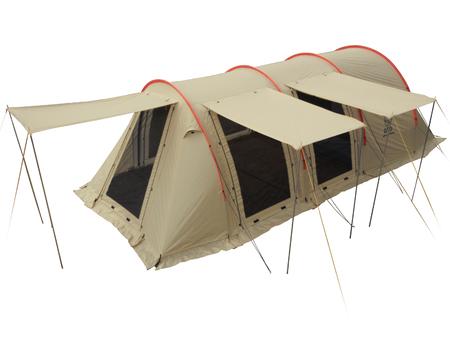 【展示製品-4】日本の四季、キャンプサイトの大きさに対応した大型テント。