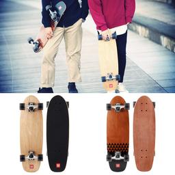 ただ持ち運ぶファッションアイテムから脱却し、乗りやすさに配慮した「クルージングスケートボード」発売。
