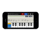 Chordana Composer Keyboard input interface