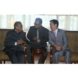 Meeting with former Prime Minister Mahathir Mohamad