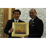 Meeting with Minister of Tourism and Culture Nazri Aziz