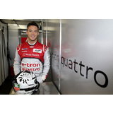 Andre Lotterer with the helmet at WEC, 2013