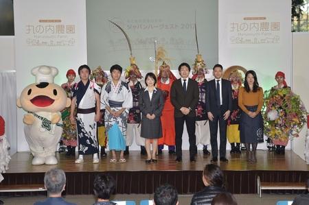 今年も都心に「丸の内農園」オープン! 『JAPAN HARVEST 2017 丸の内農園』