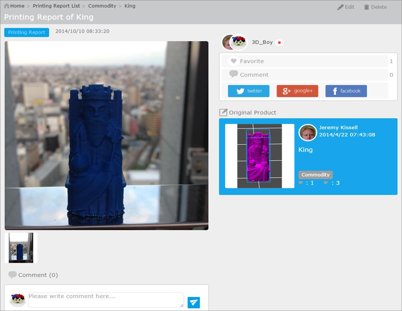 Qubrick Started Offering Online 3d Print Order 3d Voxel