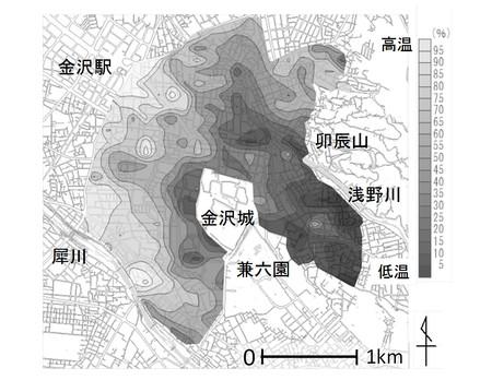 建築学科円井研究室が「都市環境気候を考慮したまちづくりワークショップ(金沢の将来像を描く)」を開催