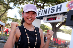 Photo by Tom Pennington/Getty Images for HONOLULU MARATHON