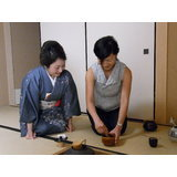 Tea ceremony experience for foreign tourists