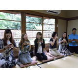 Tea ceremony experience for Chinese inspection tour in Japan