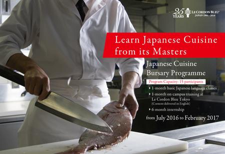 15 heureux candidats qui il sera offert la chance d for Apprendre la cuisine japonaise