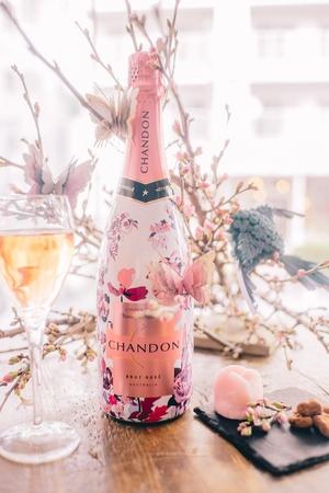 シャンドン ロゼのキャンペーン、表参道・スパイラルにて無料イベント「お花見CHANDON 2017」開催!