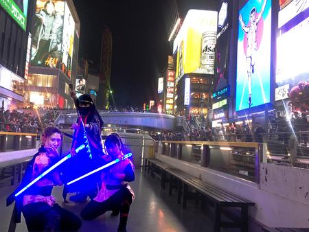 大阪のナイトカルチャー「 Ninja Night in OSAKA 」開催!