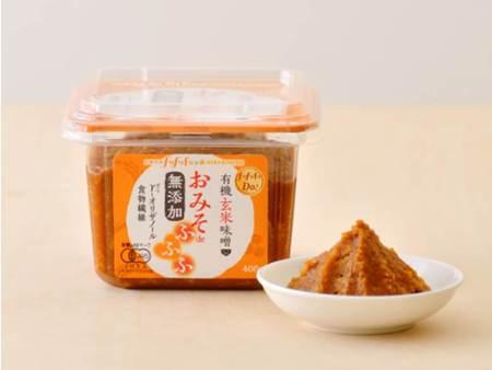 ロート製薬発行「太陽笑顔fufufu」と ひかり味噌(株)が共同開発「有機玄米味噌」を読者限定発売