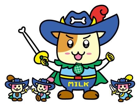 「牛乳ヒーロー&ヒロイン」コンクール|アート( …