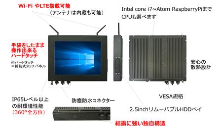 パネル型PC 特徴